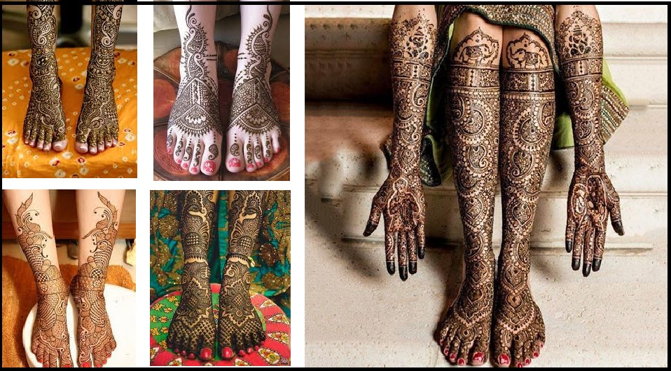 latest foot mehndi designs 2018