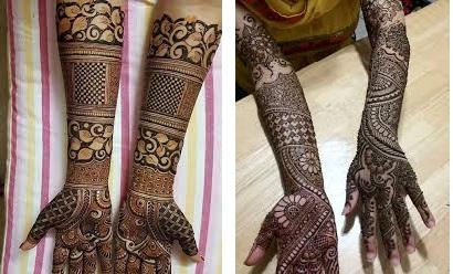 hand bridal mehndi designs