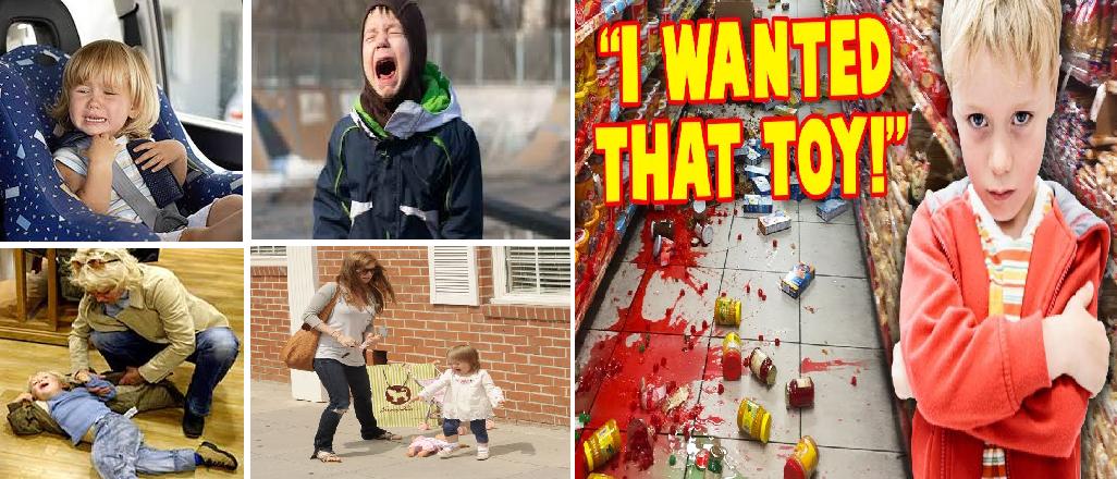 controlling tantrum in kids