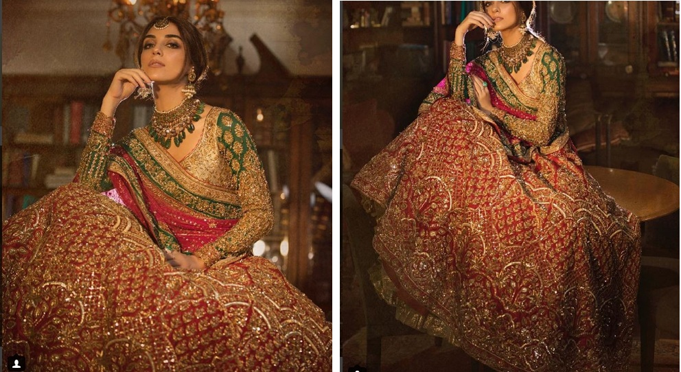 pakistani lehnga designs 2018