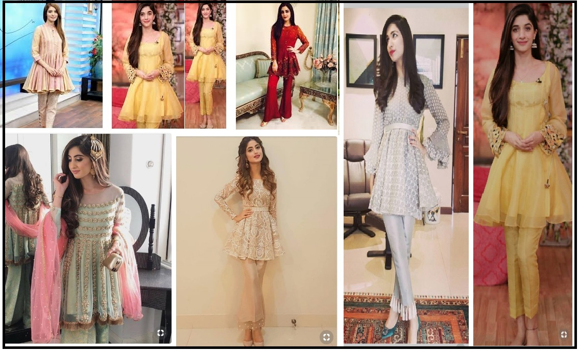 latest pakistani party wear dresses 2018