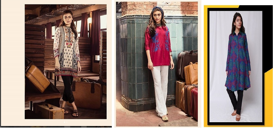 short shirts pakistani fashion