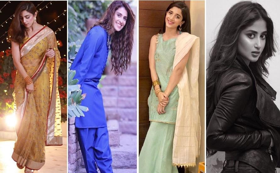 Top Pakistani Celebrities And Their Wedding Looks In Gharara And Sharara Pakistan 360
