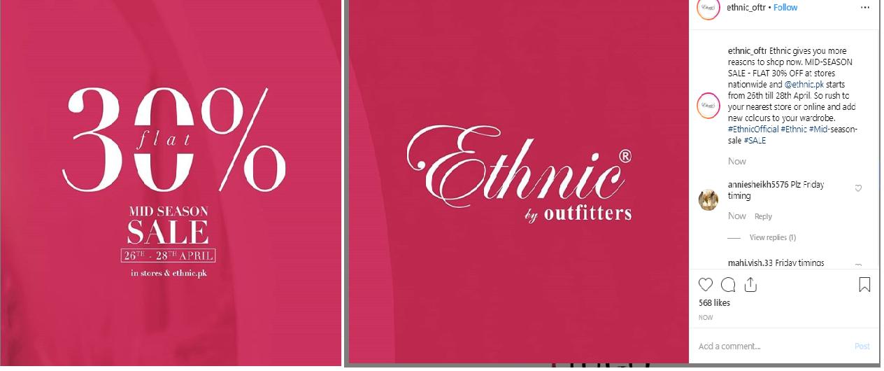 ethnic sales 2019