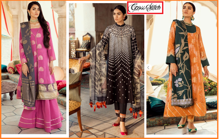 cross stitch eid collection 2019