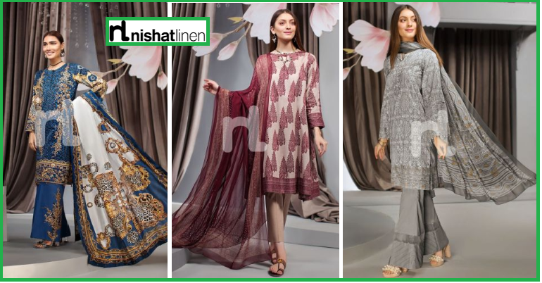 nishat linen eid collection 2019