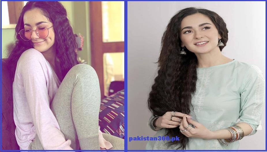 Hania Amir curly hair