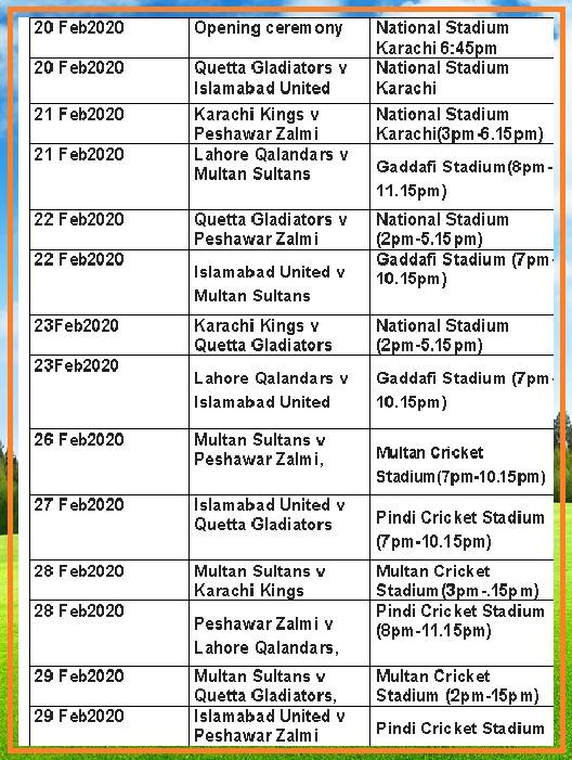 pakistan cricket 2020